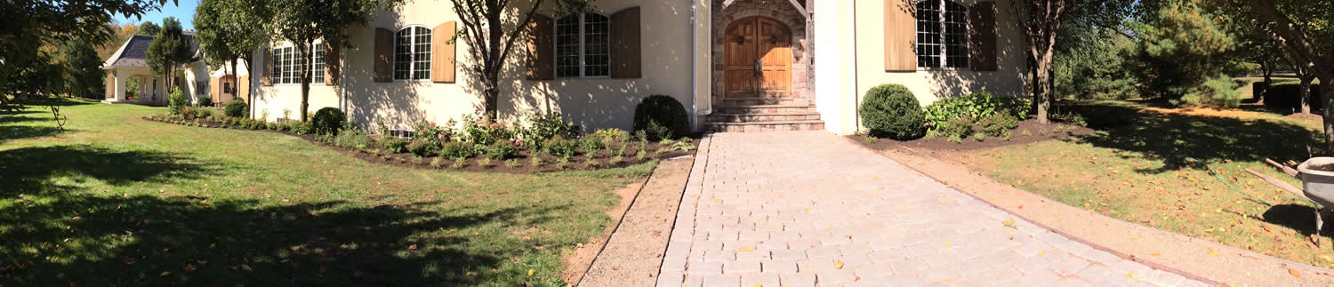 Landscaping, Lawn Mowing, Stonework, Doylestown, Bucks County, PA